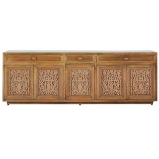 Maurice Bailey for Monteverdi-Young Carved Credenza