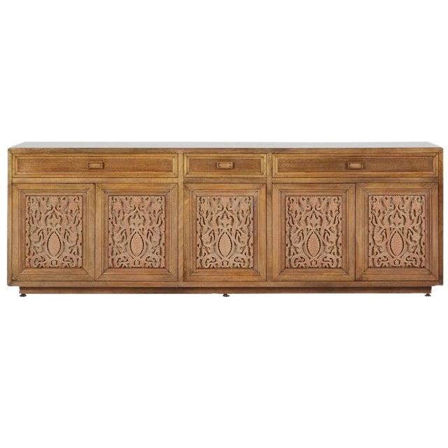 Maurice Bailey for Monteverdi-Young Carved Credenza - Image 1 of 5