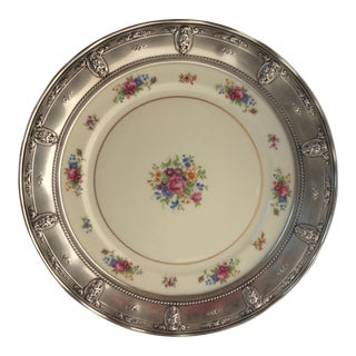 Wallace Sterling Silver Rosepoint Serving Tray