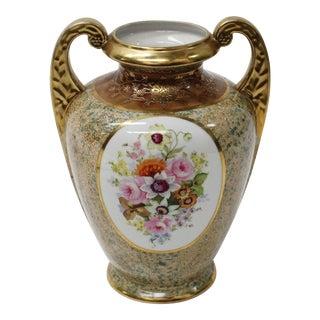 Noritake Nippon Floral Antique Vase