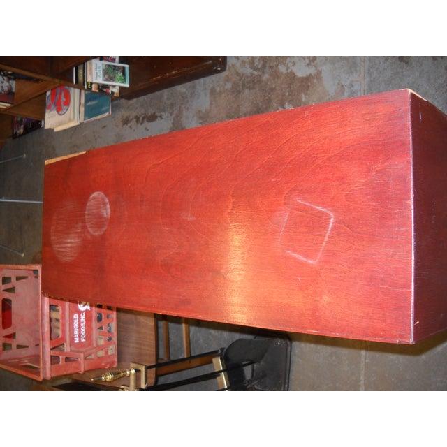 Vintage Midcentury Modern Record Cabinet - Image 9 of 11