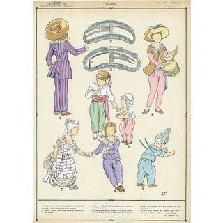Color Print - Louis XVI Children's Fashion