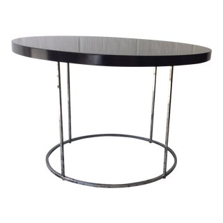 Black Lacquered Cocktail Table