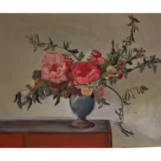 Still Life Painting on Canvas by Stacia Chamberlain