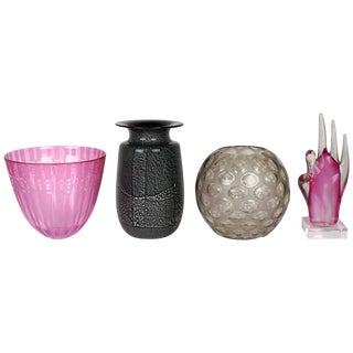 Murano and American Art Glass Vases and Sculpture Collection
