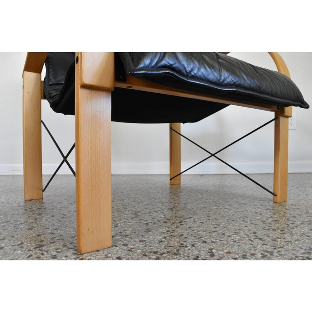 Vintage Italian Bentwood Lounge Chair - Image 6 of 10