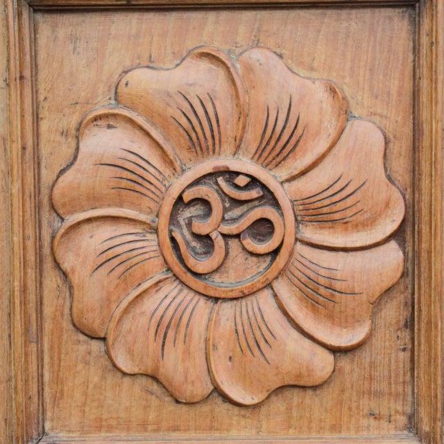 Lotus Teak Mirrored Door - Image 3 of 6