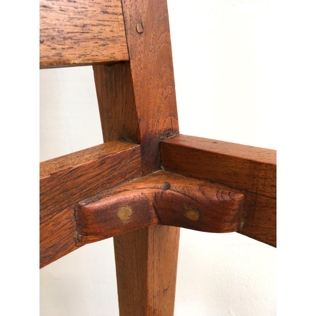 Antique Arts & Crafts Chairs- Hand Caned Craftsman Oak - Image 6 of 11