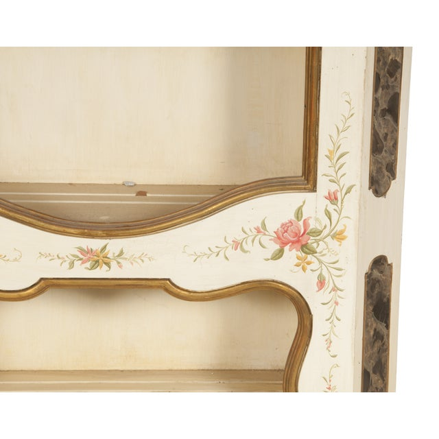 Image of Decorated French Display Cabinet