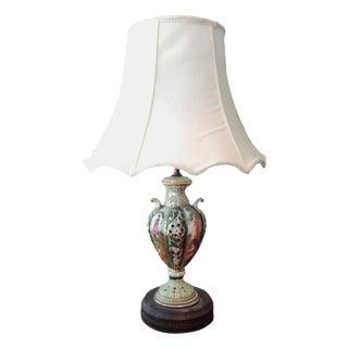 Antique Italian Capodimonte Style Table Lamp