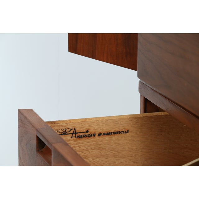 Highboy Dresser by American of Martinsville - Image 6 of 9