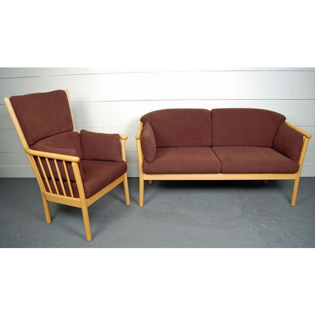 Image of Vintage Swedish Modern Loveseat