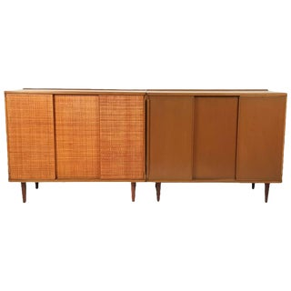Pair of Dunbar Mahogany Cabinets Designed by Edward Wormley