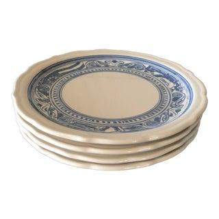 Vintage Liberty Blue Restaurant Ware Dishes -Set of 4