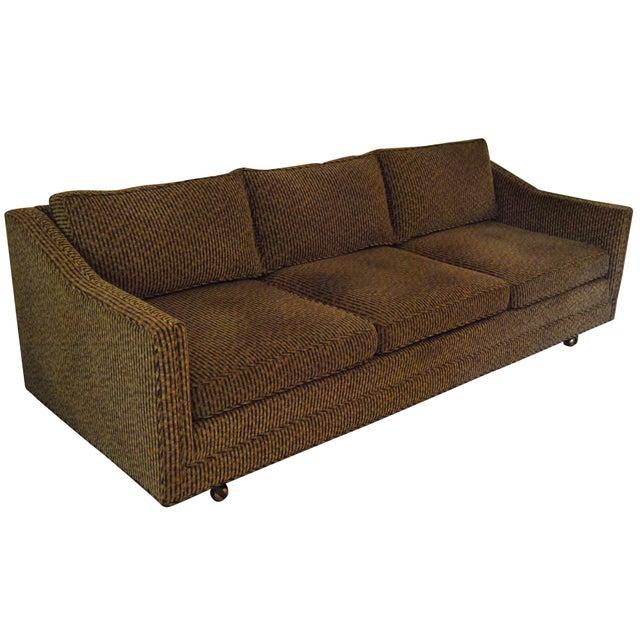 Low Profile Mid Century Three Seater Sofa Chairish