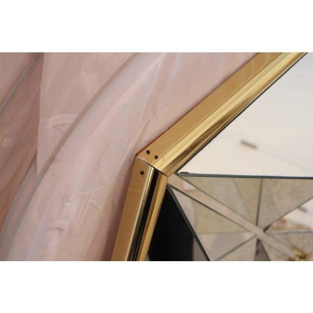 Mid-Century Modern Prism Mirror - Image 5 of 7