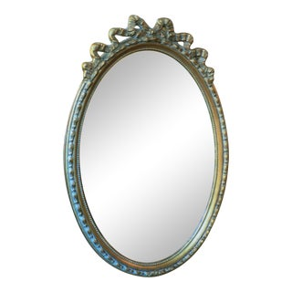 Gold Glided Oval Mirror