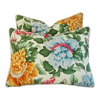 Designer Brunschwig & Fils Lahore Pillows - Pair