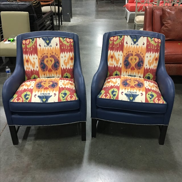 Leathercraft Club Chairs -A Pair - Image 2 of 6
