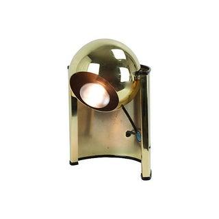 1970s Gold Eyeball Lamp