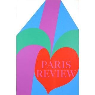 Carol Summers-Paris Review-1968 Serigraph-SIGNED