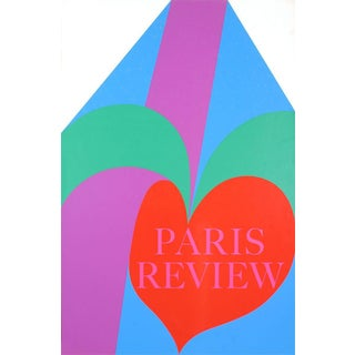Carol Summers-Paris Review-1968 Serigraph-SIGNED