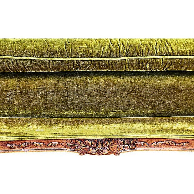 Louis XV-Style French Antique Daybed - Image 6 of 6