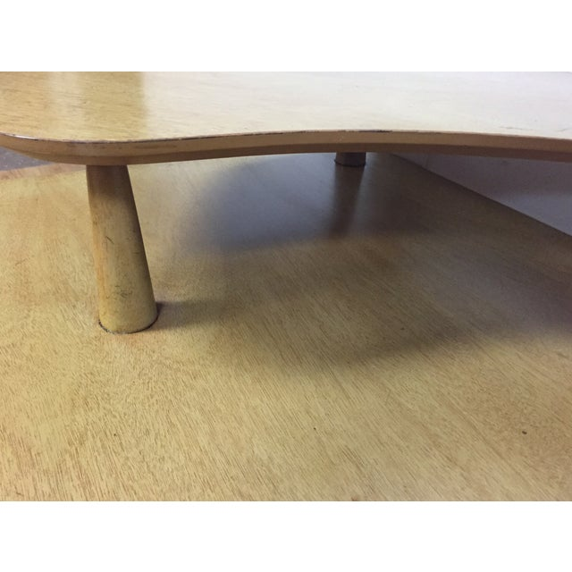 Bleached Mahogany Two Tiered Corner Table - Image 9 of 10