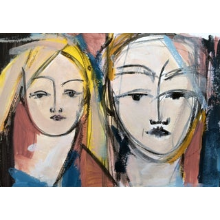 """""""Women I"""" Expressionist Painting"""