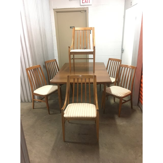 Mid-Century Dining Set by Hooker - Set of 7 - Image 2 of 11
