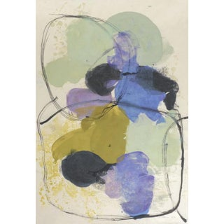 Guna Y, 2016, Pigmented wax and ink on okiwara paper by Tracey Adams.