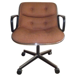 Vintage Knoll Pollock Conference Chairs - A Pair