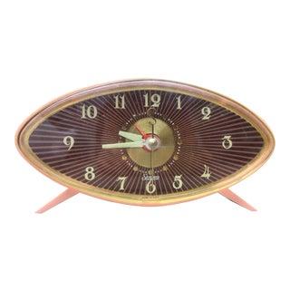 Mod Pink Atomic Alarm Clock