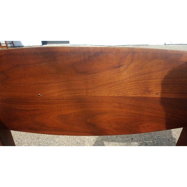 Mid-Century Walnut Gunlocke Chairs - Pair - Image 7 of 11