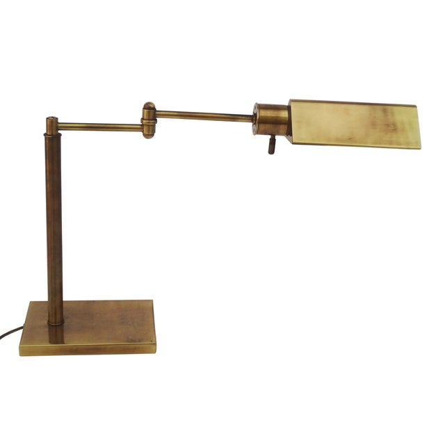 Image of Frederick Cooper Classic Brass Desk Lamp