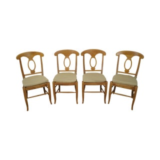 Pottery Barn Italian Dining Chairs - Set of 4
