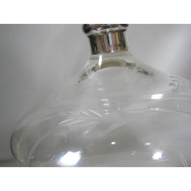 Sterling Finial & Base Covered Glass Candy Dish - Image 7 of 11