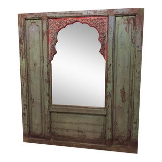 Large Floor Length Boho Chic Rustic Mirror