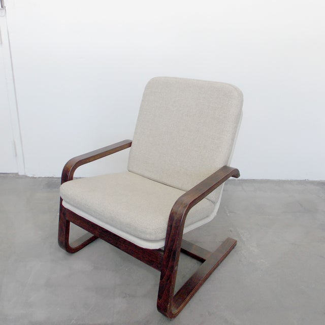 Bentwood Lounge Chair - Image 2 of 8