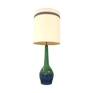 Vintage Danish Modern Glaze Ceramic Lamp