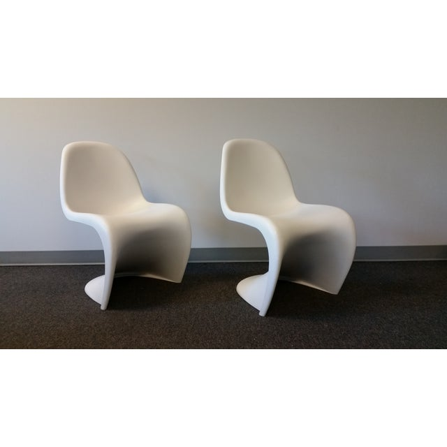 Mid-Century Verner Panton Chairs - A Pair - Image 4 of 6