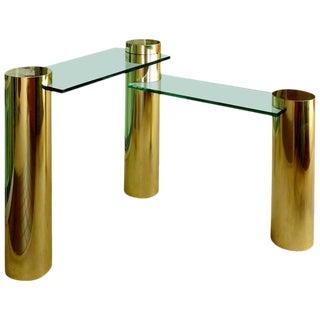 Rare Right Angle Table or Desk
