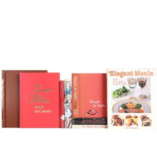Entertaining Cookbook Collection - Set of 8