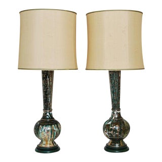 20th Century Indo-Persian Lamps - A Pair