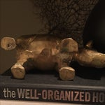 Image of Vintage Brass Hippo