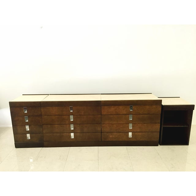 brian palmer for baker furniture bedroom set chairish