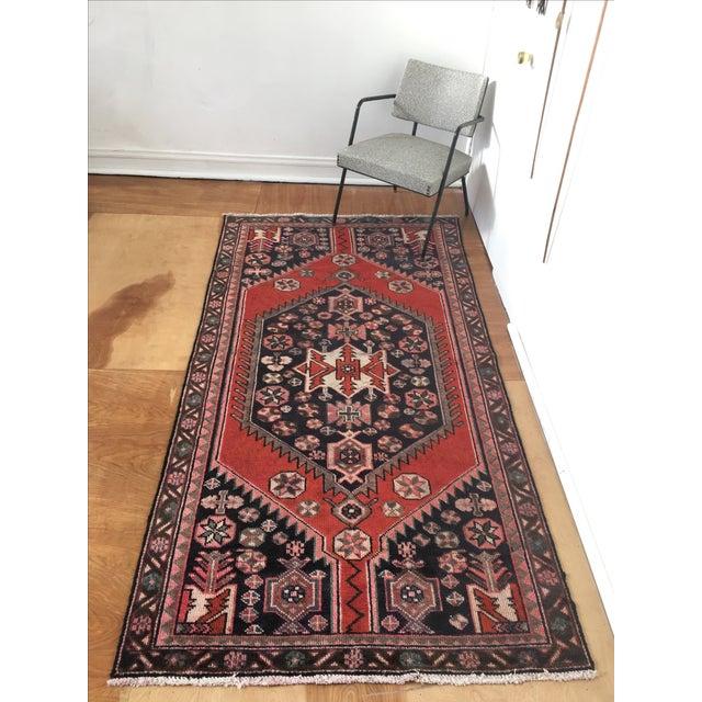 Vintage Persian Rug - 4′ × 7′8″ - Image 7 of 7