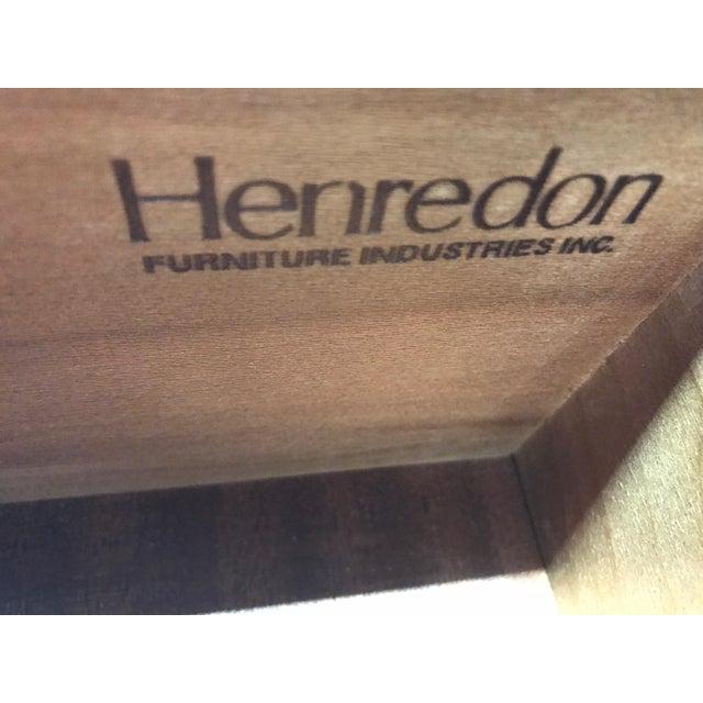 HENREDON 'Sovereign' Chippendale Semainier / Lingerie Chest Buckingham - Image 9 of 11