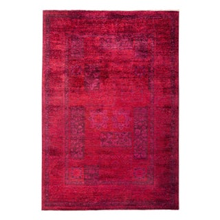 "Hand Knotted Area Rug - 5'2"" X 7'4"""