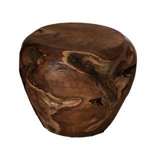 Teak Root Wood Accent Side Table Base